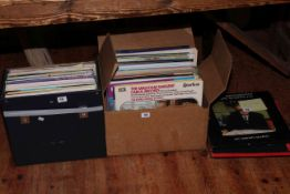Collection of mostly classical LP records.