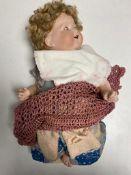 An early 20th century Armand Marseille doll