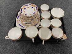 A twenty-five piece Royal Grafton bone china tea service