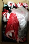 A box of Phaze fantasy outfits and underwear