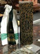 A bottle of Bollinger Champagne RD Tradition Vintage 1973, in original presentation carton,
