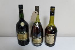 A bottle of Remy Martin Cognac 68cl,