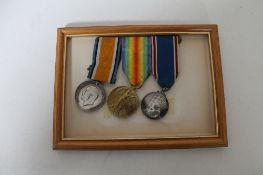 A group of war medals - two WWI awarded to 7884 A. Cpl. G. Million. R.E.