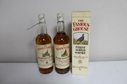 Three bottles The Famous Grouse Finest Scotch Whisky 75cl,