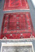 A Hamadan rug,