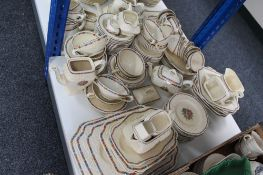 A large quantity of Crown Ducal Gainsborough and other tea and dinner ware