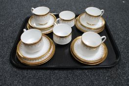 A small quantity of Paragon Athena tea china