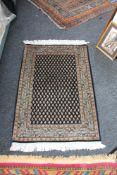 An eastern rug,