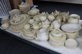A large quantity of Crown Ducal Florentine and other dinner ware