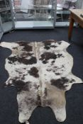 A large cow hide, approx.