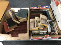 Two boxes of volumes : Tolkien,