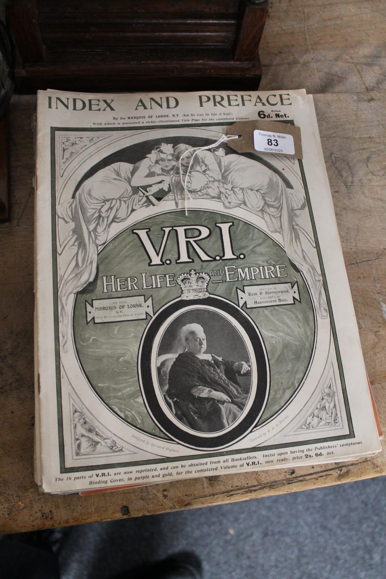 Lot 83 - Seventeen magazines V.R.I.