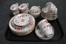A quantity of mixed Molven Royal Grafton tea china