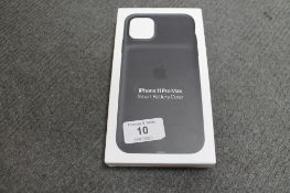 Apple : iPhone 11 Pro Max Smart Battery Case, model A2180, black, brand new & boxed. (R.R.P. £129.