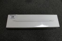 Apple : Pencil, 2'nd Generation, model A2051, brand new, box still sealed. (R.R.P.£119.