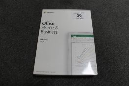 Microsoft : Office Home & Business 2019, 1 PC/Mac, with product key, brand new, box still sealed.