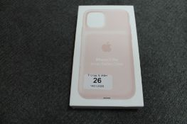 Apple : iPhone 11 Pro Smart Battery Case, model A2184, pink, brand new & boxed. (R.R.P. £129.
