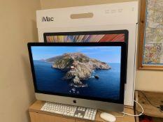 An Apple iMac 27-Inch Core i5 3.