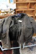 A suede gent's coat