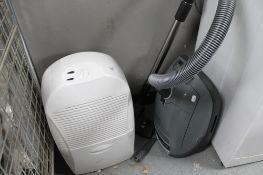 An Ebac dehumidifier and Meile vac