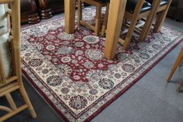 A contemporary Persian style carpet,