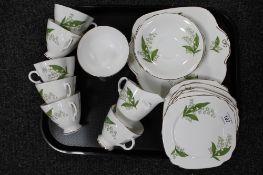 A tray of Windsor bone china,