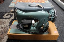 A sewing machine in case