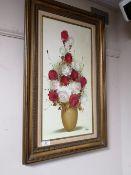 A gilt framed oil,