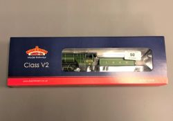 Bachmann - 31-550B Class V2 4771 'Green Arrow' LNER Doncaster Green, boxed.