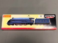 Hornby - LNER 4-6-2 Class A4 'Herring Gull' Digital Sound, boxed.