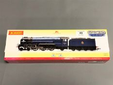 Hornby - BR 4-6-2 Peppercorn Class A1 'Tornado' Enhanced Livery Digital Twin Track Sound, boxed.