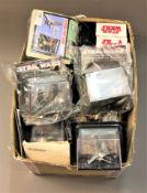 A collection of boxed Star Wars The Official Starships & Vehicles Collection figures,