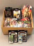 A collection of Disney Star Wars boxed figures and sets : Star Wars The Force Awakens gift set,