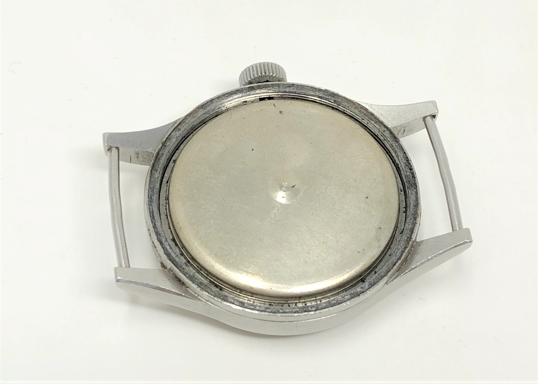 A very rare stainless steel British Military Grana wristwatch, - Image 9 of 11