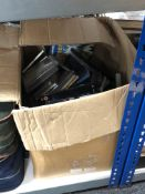 A large quantity of DVDs and CDs