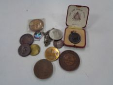 A bag of medallions, Education,