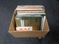 A box of vinyl lps - Classical,