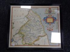 A framed print after Saxton,