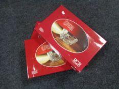 Three boxed RCR opera bowls