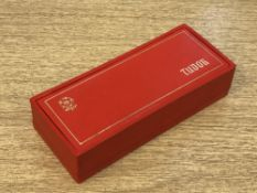 A vintage Tudor watch box