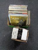 A quantity of LP's, Jim Reeves,
