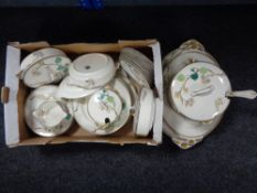 A quantity of Susie Cooper designed Gray's pottery hand painted dinner ware