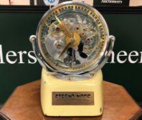 Eterna : An extremely rare/possibly unoque shop/exhibition display clock, Switzerland, circa 1950's.