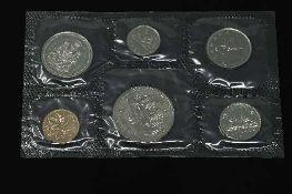 The Canadian Mint - A set of uncirculated coins to include Dollar, 50 cents, 25 cents, 10 cents,
