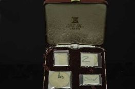 The Pobjoy Mint - Isle of Man 1974 legal tender gold proof set comprising of £5 coin, £2 coin,