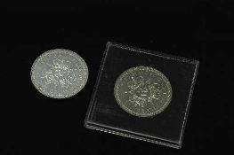 The Pobjoy Mint - 1977 sterling silver commemorative crown,