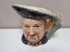 A large Royal Doulton character jug - Henry VIII D6642