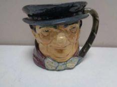 A large Royal Doulton character jug - Tony Weller