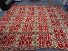 A large Persian carpet 400 cm x 360 cm