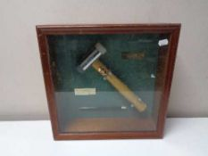 A Thor hammer in display box